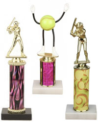 Single Column Trophies