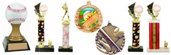 Baseball trophies, Medals and Awards