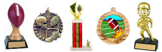 Football trophies and Medals