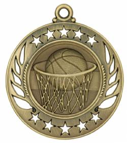 Galaxy - Basketball Medal 2.25""