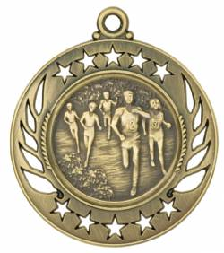 Galaxy - Cross Country Medal 2.25""