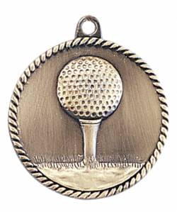 High Relief - Golf Medal 2.0""