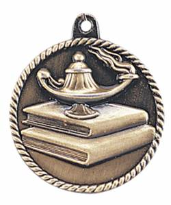 High Relief - Lamp of Knowledge Medal 2.0""