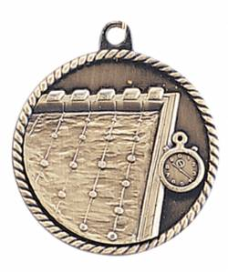 High Relief - Swimming Medal 2.0""