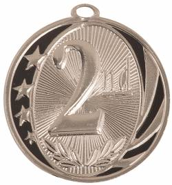 "MidNite Star - 2nd Place Medal 2.0"" - Silver Only"