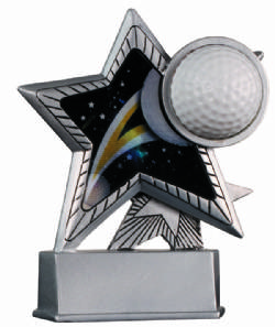Resin Motion Star Award - Golf