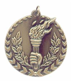 Millennium Series - Torch Medal 1.75""
