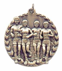 Millennium Series - Cross Country Medal 1.75""