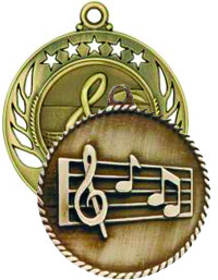 Medals - Ribbons - Music | Band