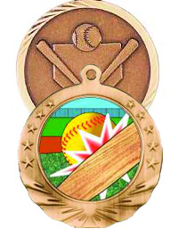 Medals - Ribbons - Softball