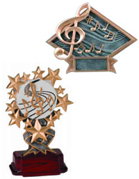 Resin Awards / Trophies Music