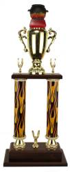 2 Post BBQ - Chili - Cook-Off - Cooking Trophy - 25""