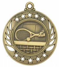 Galaxy - Tennis Medal 2.25""