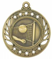 Galaxy - Volleyball Medal 2.25""