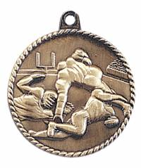 High Relief - Football Medal 2.0""