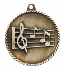 High Relief - Music Medal 2.0""
