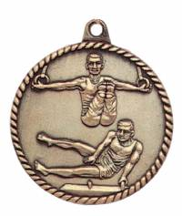 High Relief - Male Gymnastics Medal 2.0""