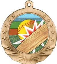 Full Graphics - Softball Medal 2.0
