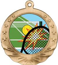 Full Graphics - Tennis Medal 2.0""