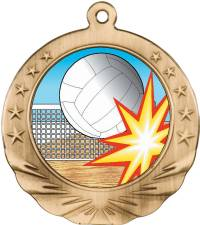 Full Graphics - Volleyball Medal 2.0