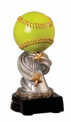 "5.75"" Encore Softball Resin Award"