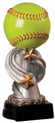 "8.5"" Encore Softball Resin Award"