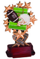 Resin Starburst Award - Football