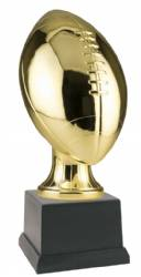 "14 1/4"" Fantasy Football Award - Gold Metallized Resin"