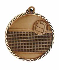 Sunray - Volleyball Solid Brass Medal 2.0