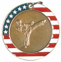 Stars and Stripes - Karate Medal 2.0