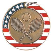 Stars and Stripes - Tennis Medal 2.0