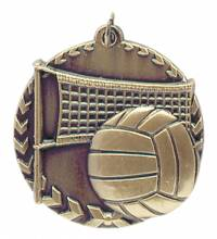 Millennium Series - Volleyball Medal 1.75""