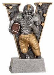 "6.0"" Fantasy Football Team Resin Award - Football"